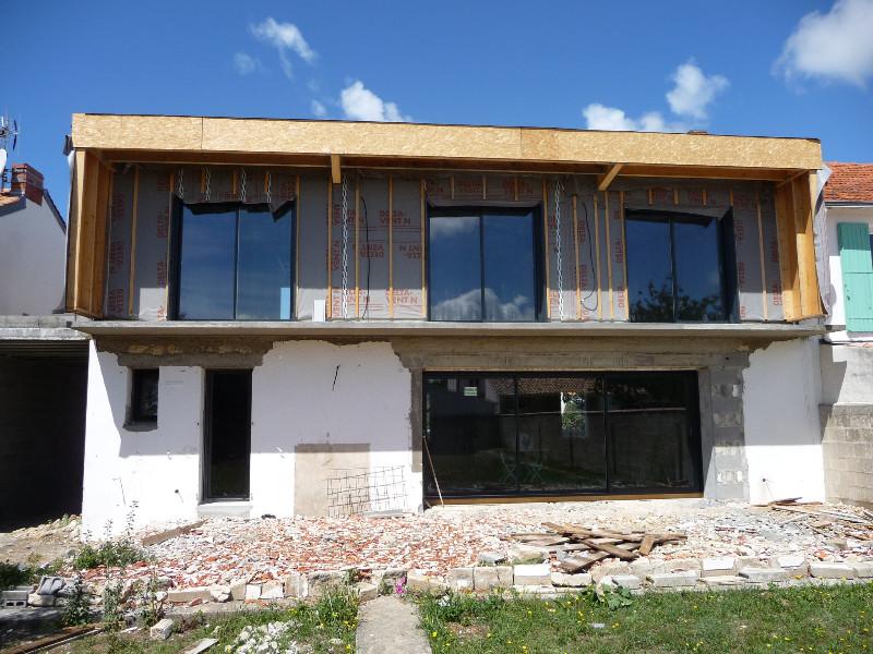 D co maison toit plat limoges 12 maison blanche for Maison de la literie annemasse